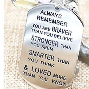 Other - NWOT  Friendship Silver Color Dog Tag